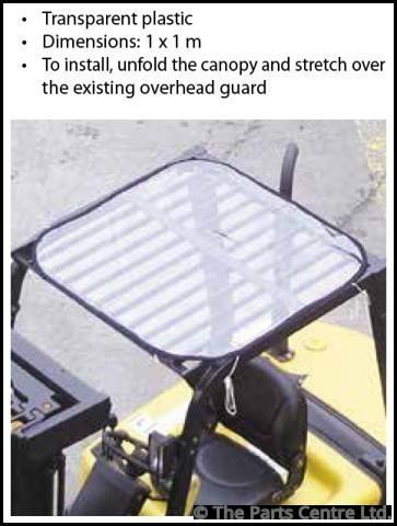 Overhead Guard Canopy